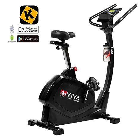 AsVIVA Unisex - Bicicleta estática para Adultos & ergómetro H22 ...