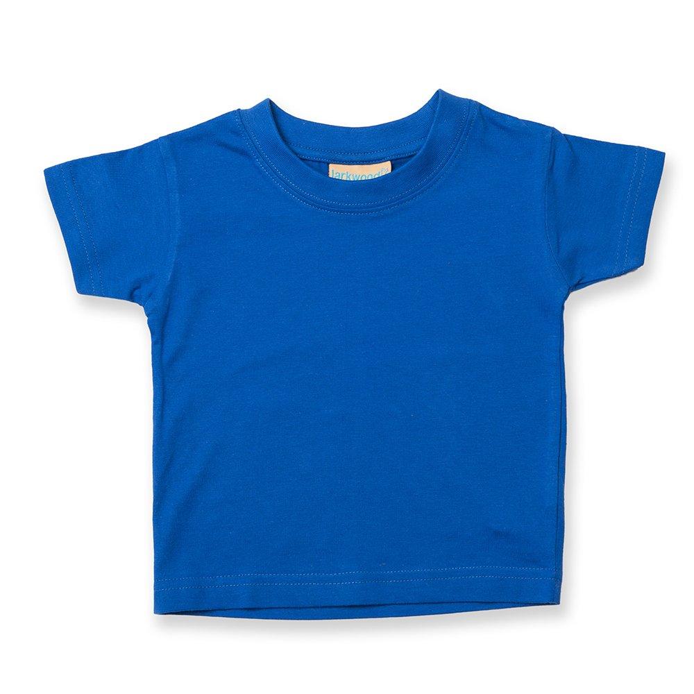 Larkwood Baby/Toddler T-Shirt Royal 12-18 LW20T LW20T ROY 12-18