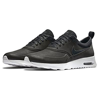 on sale ae82d 5724e NIKE Air Max Thea Premium WMNS Schuhe Damen Sneaker Turnschuhe Schwarz  616723 007, Größenauswahl: