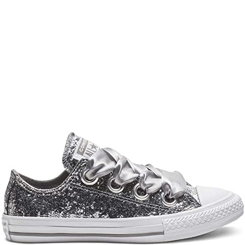 6aa7874bb8c Converse Chuck Taylor all Star Big Eyelets Ox Mason Synthetic Youth Trainers   Amazon.it  Scarpe e borse