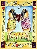 Caroline's Treasures 7046CHF Pug Love Pug Flag Canvas, Large, Multicolor For Sale