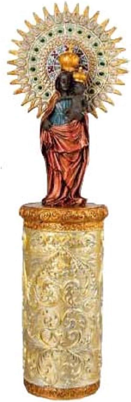 DRW Figura de la Virgen del Pilar de 10 cm: Amazon.es: Hogar