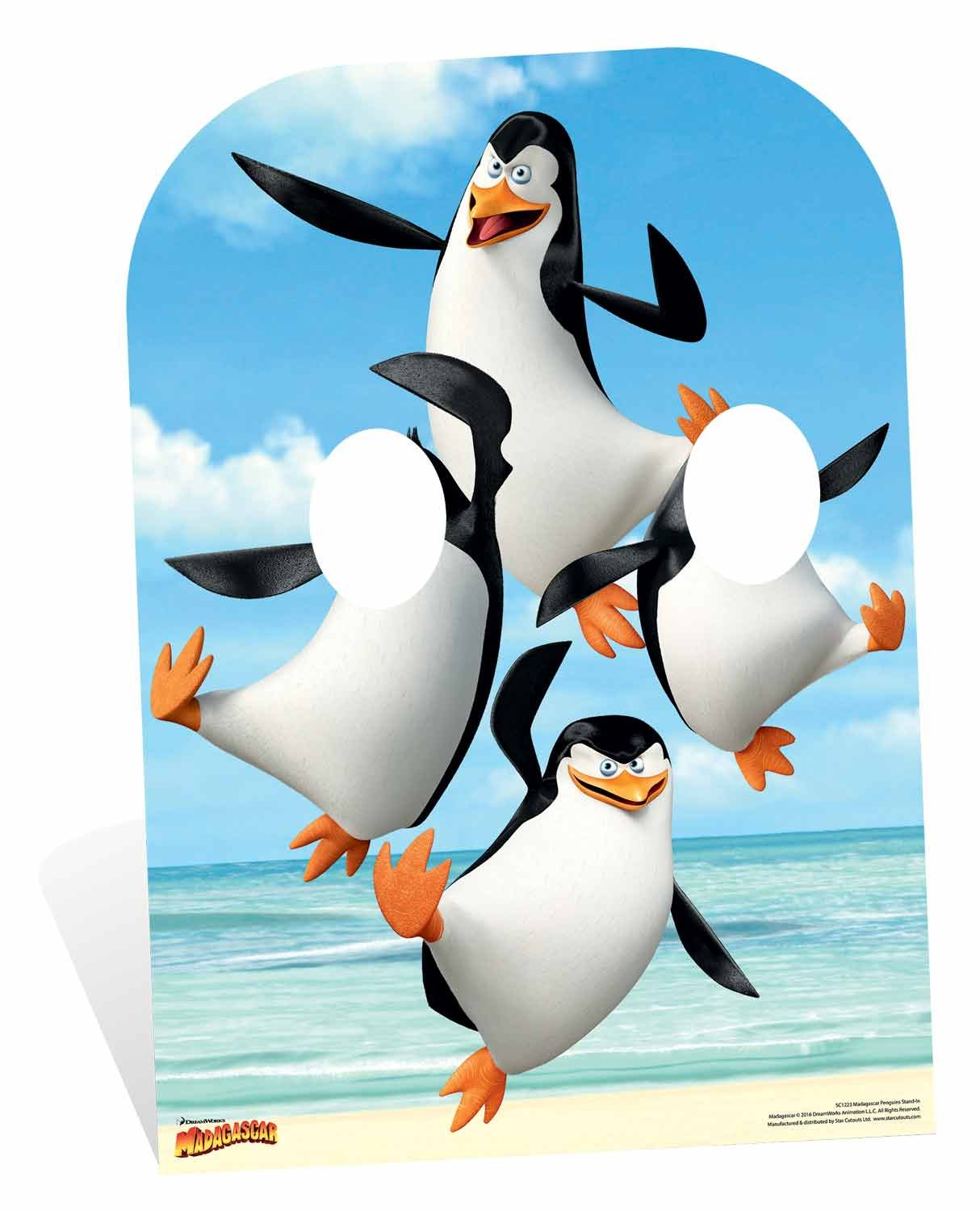 Penguin Stand-In Madagascar Movie Life Size Cardboard Cutout SC1223