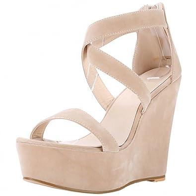Talon Des Chaussure Wanyang Mode Corde Compensé Été Femme Sandales Sandale Plateforme uOXTkPZi
