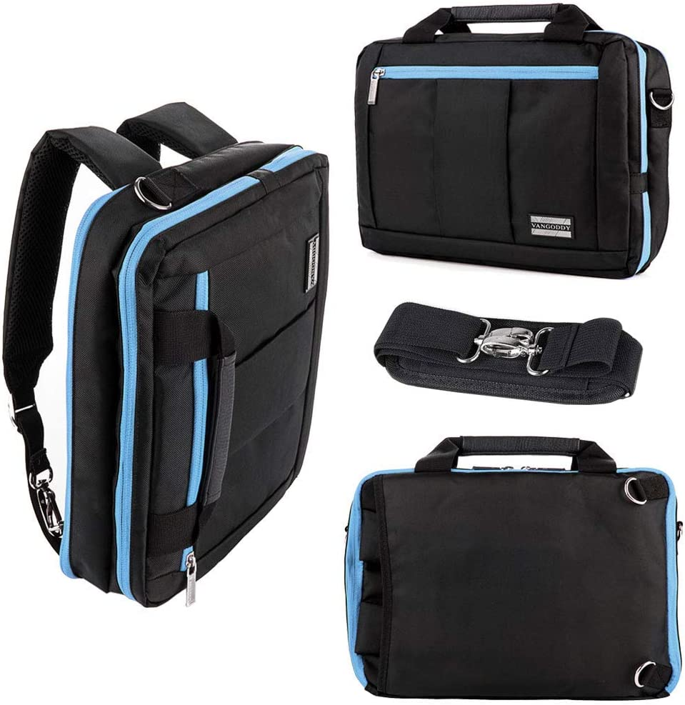 """VanGoddy Green Laptop Backpack Travel School Bag for 15.6/"""" Dell XPS 15// HP ZBook"""