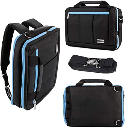 16 Inch Laptop Multi-functional Briefcase Carrying Messenger Case Tote Bag
