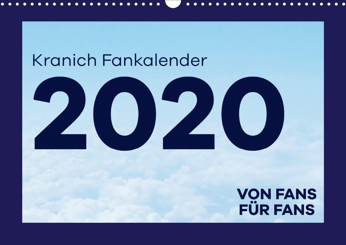 Kranich Fankalender (Wandkalender 2020 DIN A3 quer)