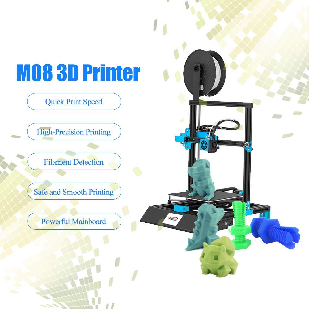 Kkmoon - Impresora 3D (pantalla táctil de 3,8 pulgadas, 220 x 220 ...