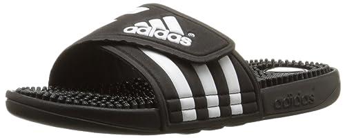 buy popular 9340c e7e4c Adidas Performance Adissage W Athletic Sandalo, nero  nero  bianco, 4 M Us  Amazon.it Scarpe e borse