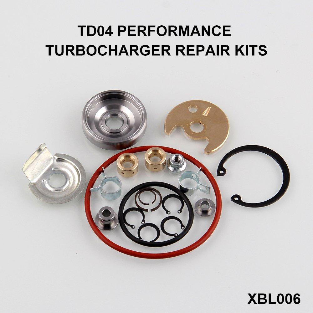 sporacingrts td04 rendimiento Kits de reparación Kits/Turbo/Turbo turbocompresor reconstruir Kits/Kits de servicio de Turbocompresor: Amazon.es: Coche y ...