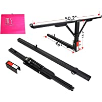 """7BLACKSMITHS Folded Truck Bed Hitch Extender Extension Rack Pick Up 2"""" Hitch Receiver 400lb"""