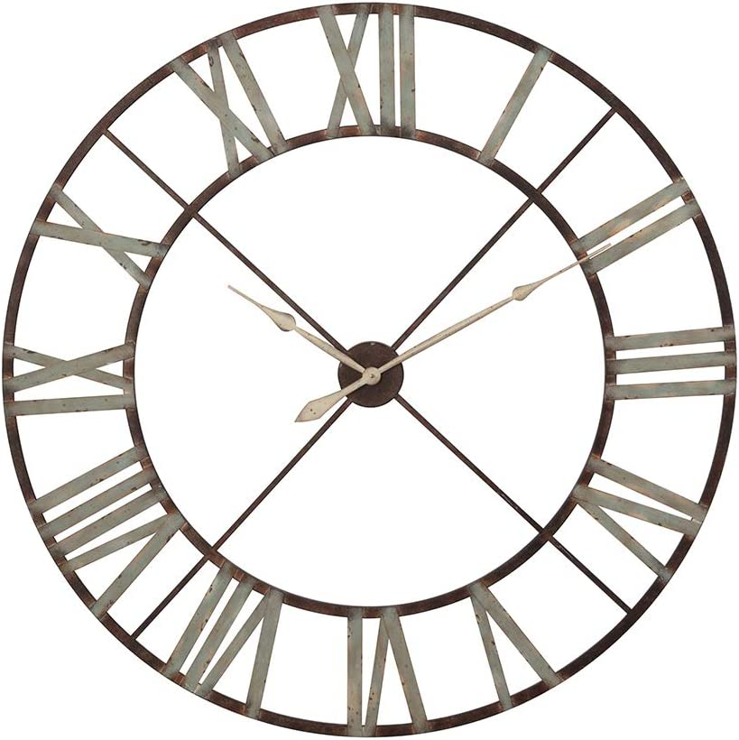 Details about  /durable Metal Metal Wall Clock Silver Clock for Home Room Office Decor