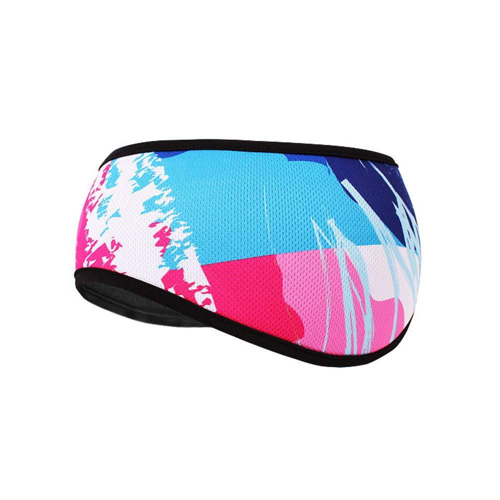 Sikye Winter Ear Warmer Unisex Men Women Polar Fleece Earmuffs Hat Fitness Cycling Ski Protect Headband (A)