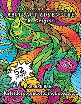 Amazon.com: Abstract Adventure: A Kaleidoscopia Coloring ...