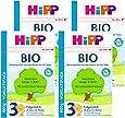 (跨境自营)(包税) Hipp喜宝 进口有机婴儿奶粉 3段 10-12个月 4盒装(4 * 800g)