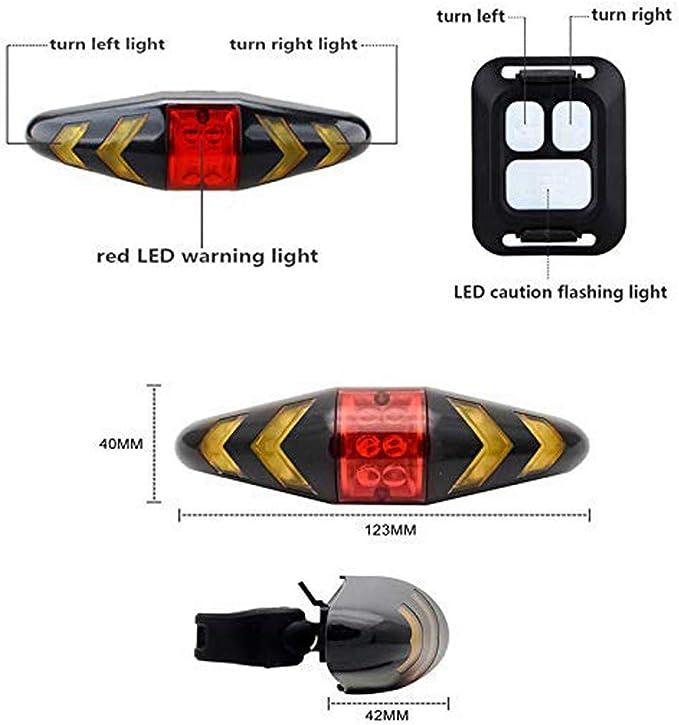 Feu arrière Lynx DEL Basic Vélo Lumière arrière sans fil Piles Incl.