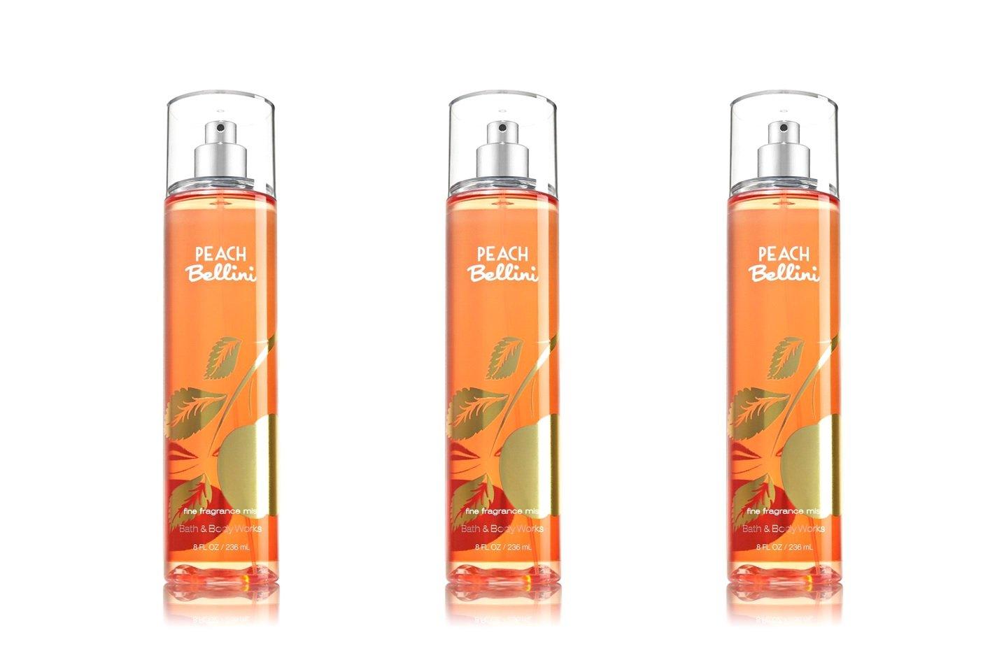 Amazon Com Lot Of 3 Bath Body Works Peach Bellini Mist Sprays 8