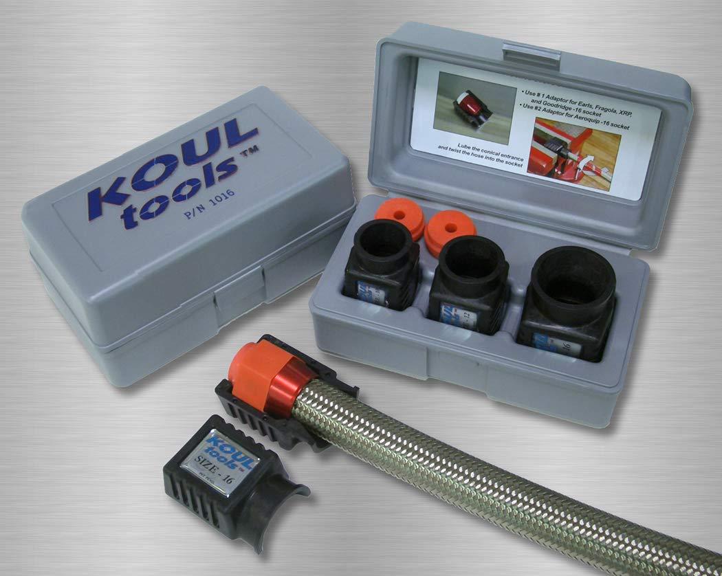 Koul Tools AN Pro Combo Kit Includes 468 and 1016 (-4 AN, -6 AN, -8 AN, -10 AN, -12 AN, -16 AN)