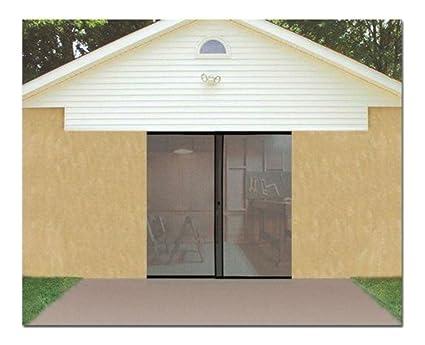 single car garage door magnetic mesh screen w opening 8 x 7 keep - Screen For Garage Door