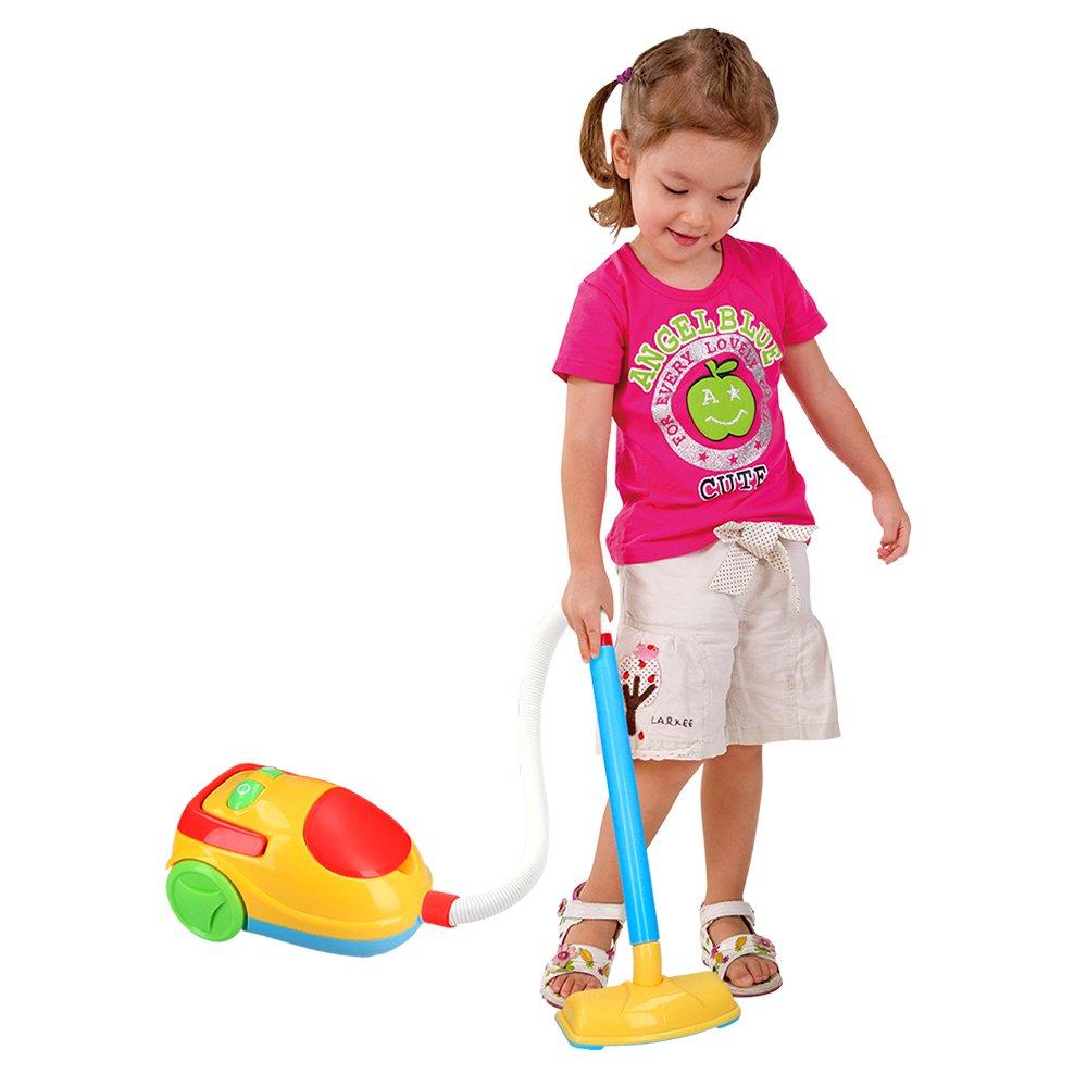 Playgo - Carrito limpieza & aspirador eléctrico (ColorBaby 44588): Amazon.es: Juguetes y juegos