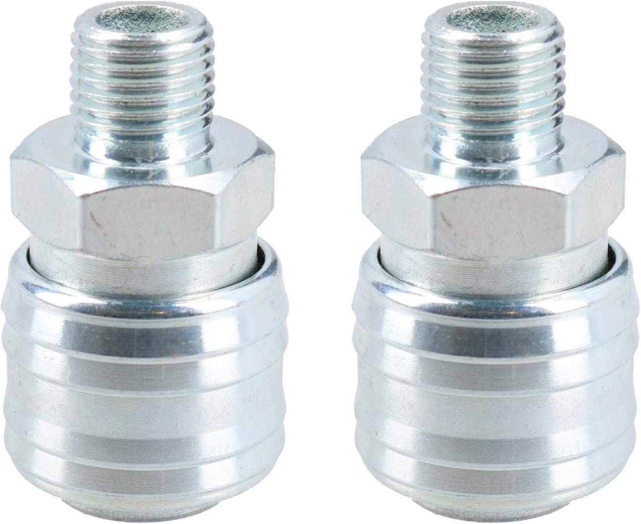 Air Line Coupling Fitting 1//4 BSP Female Quick Release Hose Connector AT044