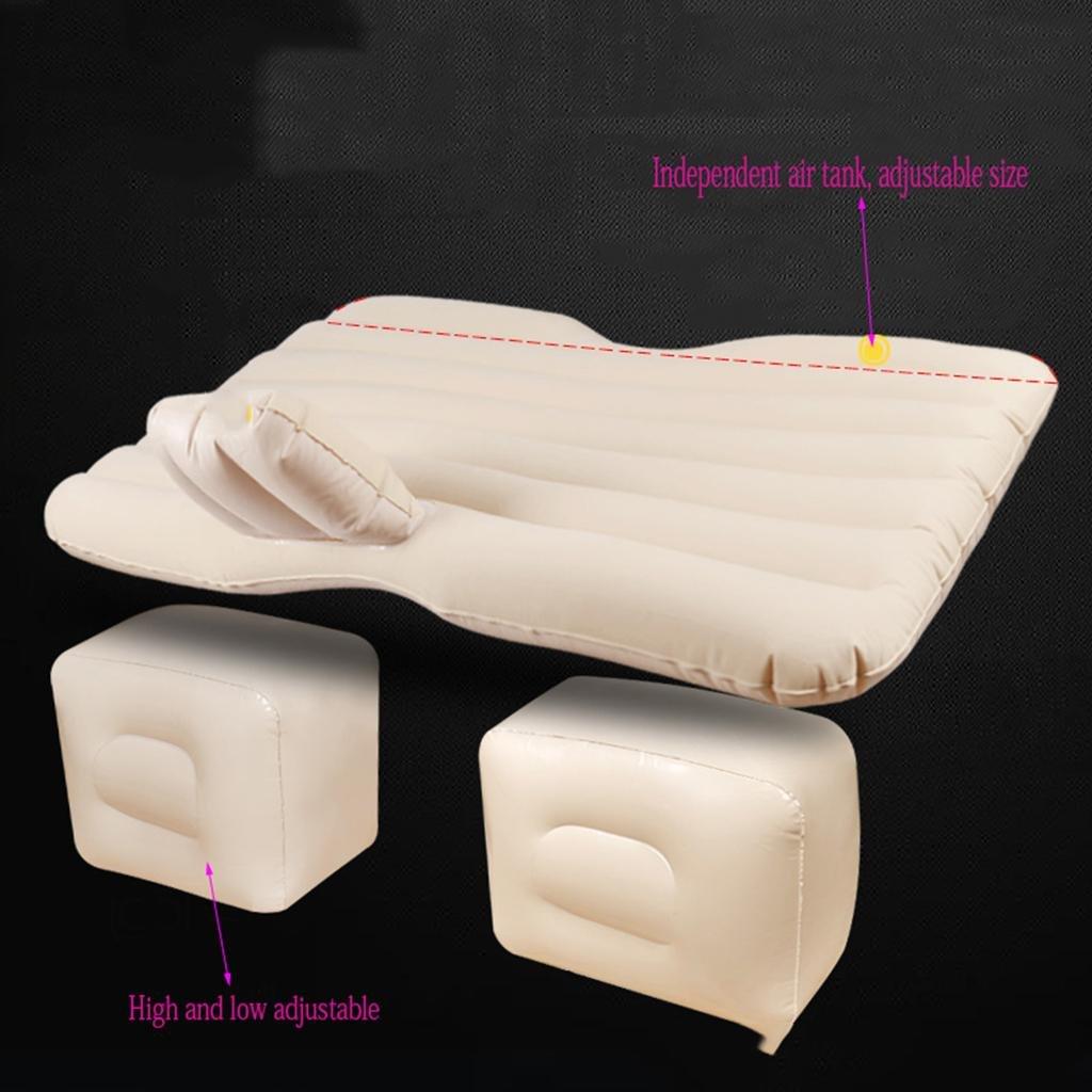 Flowing water Air Bett für Auto Auto Auto Aufblasbare Luft Matratze Bett für Rücksitz von Autos SUV und Mid-Größe Trucks Outdoor Travel 135  83cm- Geeignet für Reisen