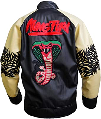 Kung Fury David Hasselhoff Leather Jacket