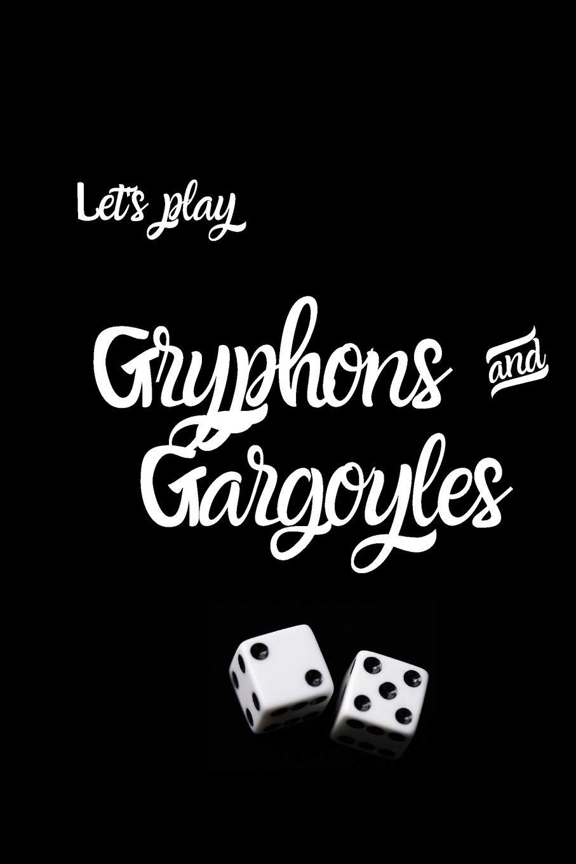 Let's Play Gryphons And Gargoyles  Riverdale Fan Novelty Notebook