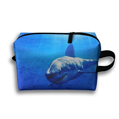 Great White Shark Pattern Multifunction Portable Pouch Waterproof Travel Bag