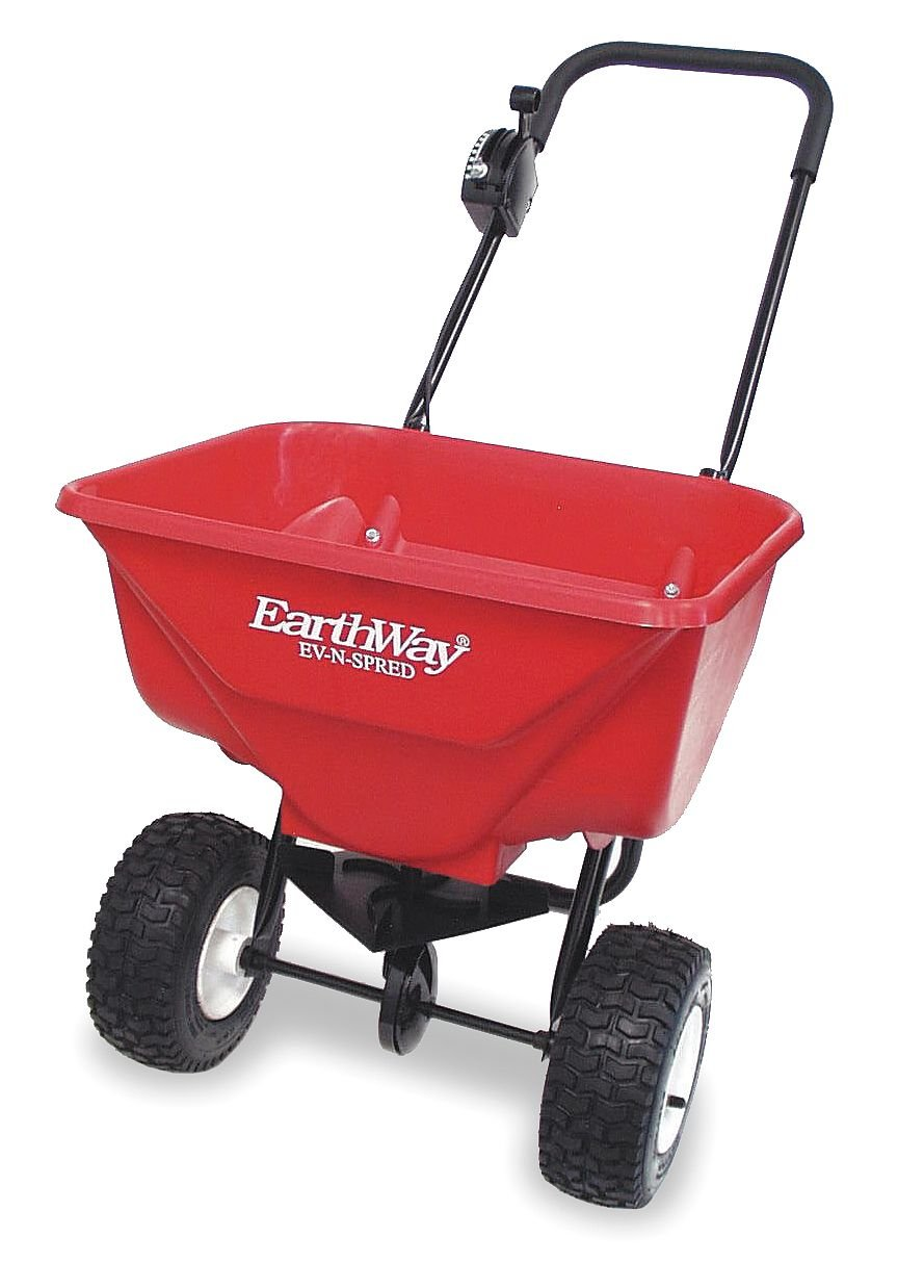 Broadcast Spreader, 65 lb., Pneumatic EARTHWAY PRODUCTS 2030P-PLUS