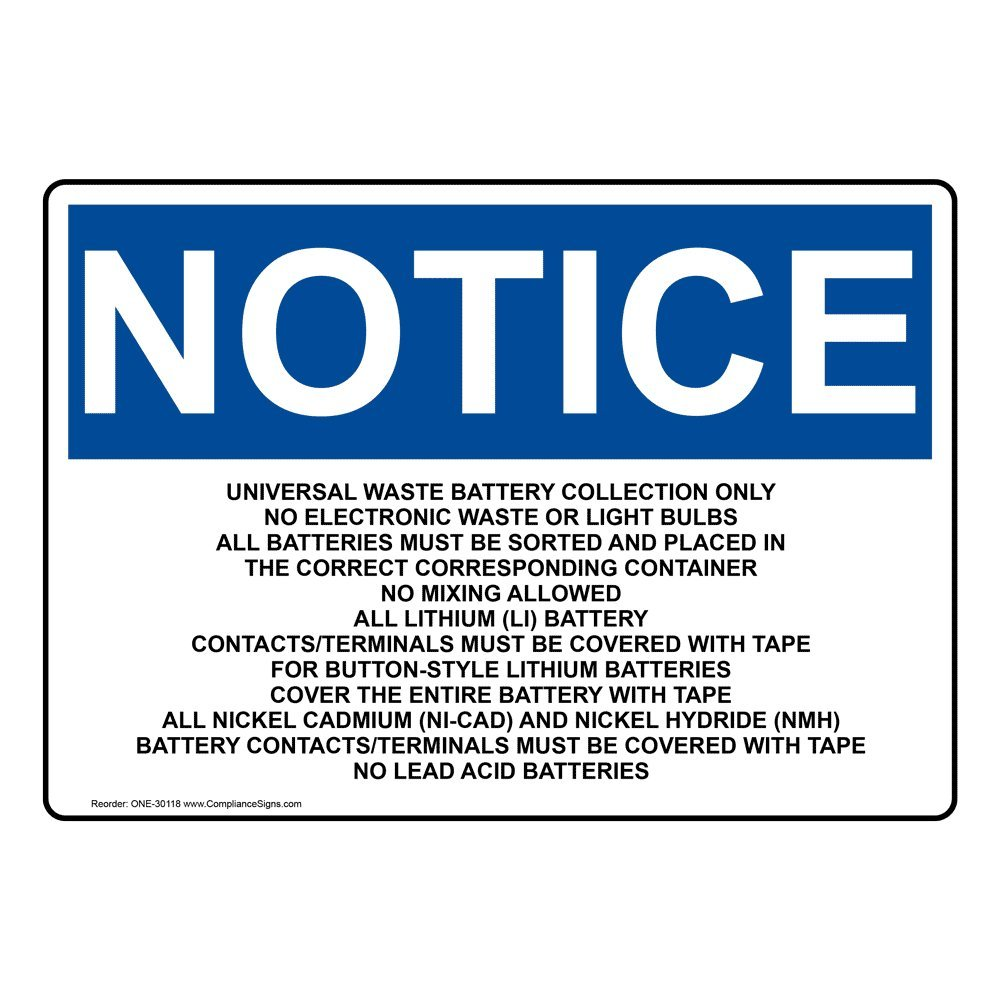 White ComplianceSigns Vertical Aluminum Recycle Metal Here Sign 14 x 10 in with English Text and Symbol