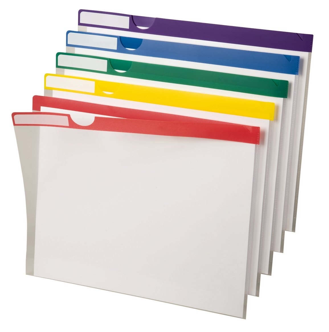 Pendaflex 50981EE Poly Index Folders, 10 Pack, Letter, Assorted 50981 Esselte Corporation