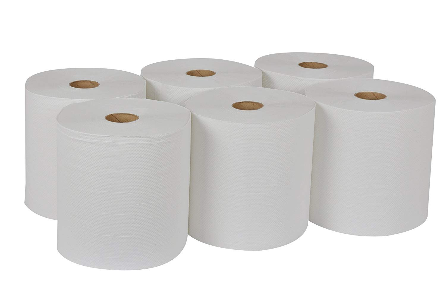 Tork Universal RB8002 Hardwound Paper Roll Towel, 1-Ply, 7.87'' Width x 800' Length, White (Case of 6 Rolls, 800 per Roll, 4,800 Feet) (Тwo Рack) by Tork (Image #2)
