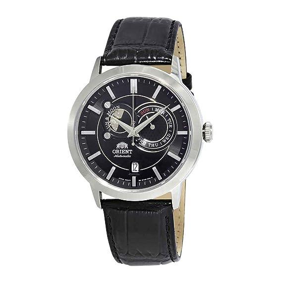 Orient Reloj Analógico para Hombre de Automático con Correa en Cuero FET0P003B0: Amazon.es: Relojes