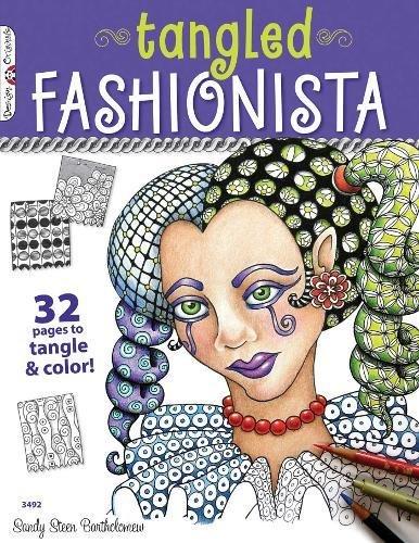 Read Online Tangled Fashionista (Design Originals) pdf