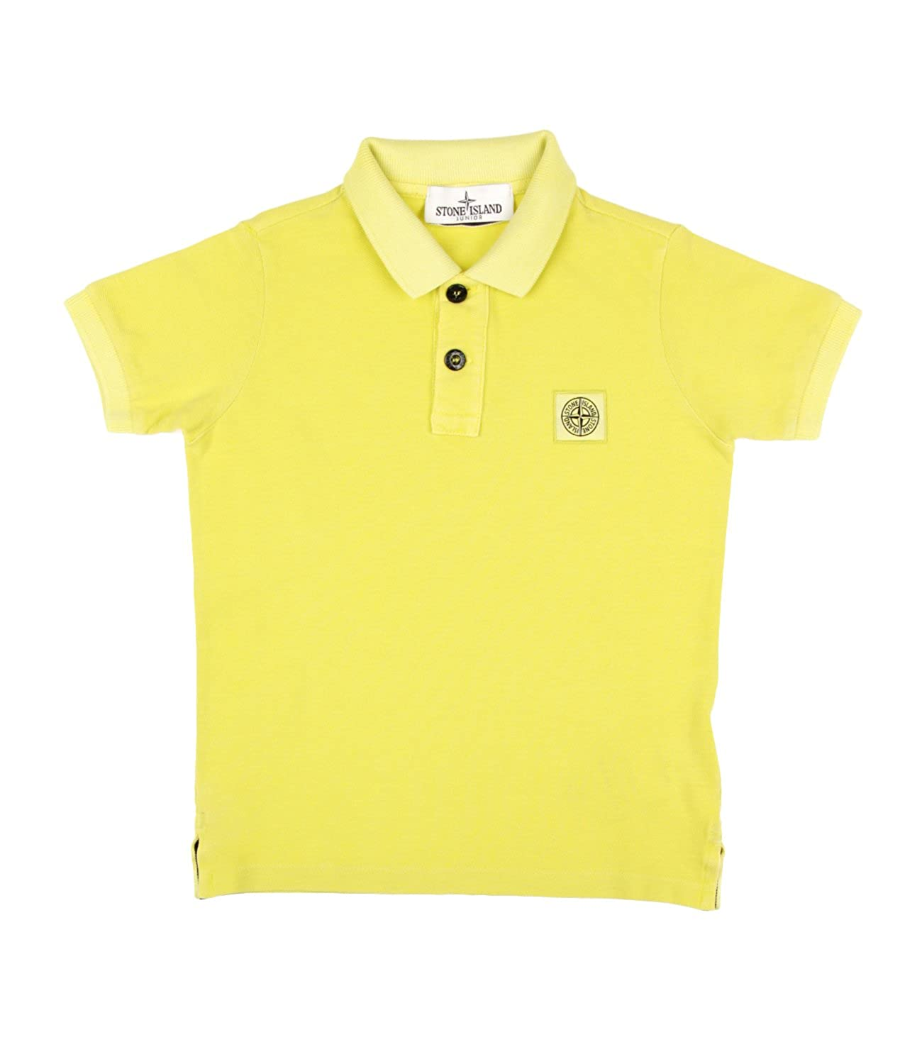 Stone Island Junior Polo Bambino Kids Boy Mod. 681620949: Amazon ...