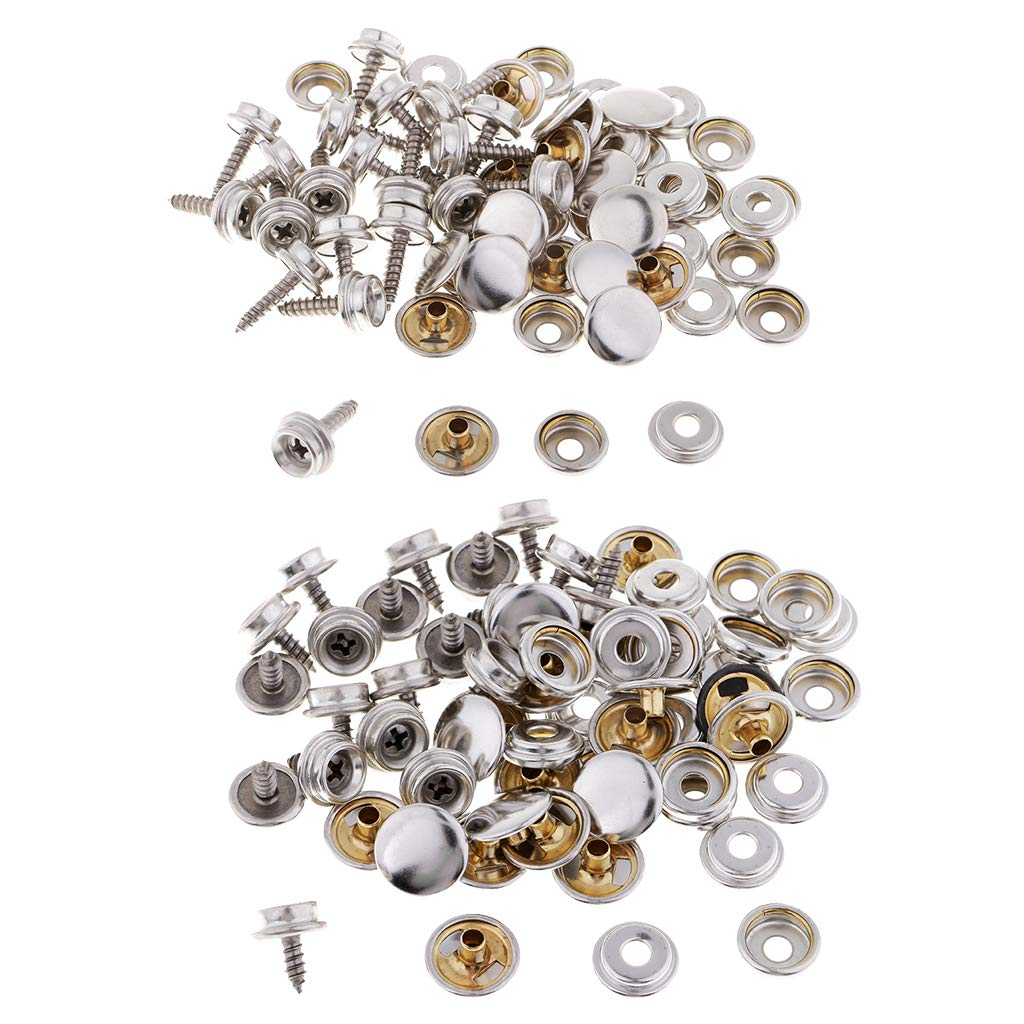 Motivated Snap Fastener Button Screw Studs Kit For Boat Canvas Fabric Home Improvement Atv,rv,boat & Other Vehicle Automobiles & Motorcycles