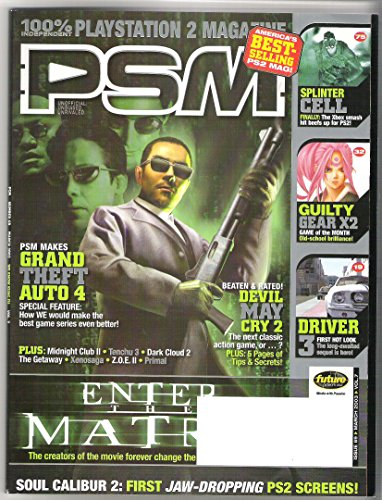 PSM Playstation 2 Magazine - March 2003, Vol. 7, Number 69 -We Know Kung-Fu, Enter the Matrix