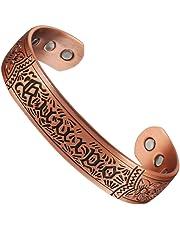 Bracelet en cuivre magnétique Pur pour Les Hommes avec 6 aimants (CPB-0152) Bijoux