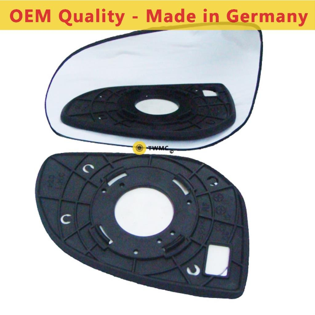HYU-I20 2009 to 2014 Non Heated Passenger Side Silver Door Mirror s Including Base Plate LH