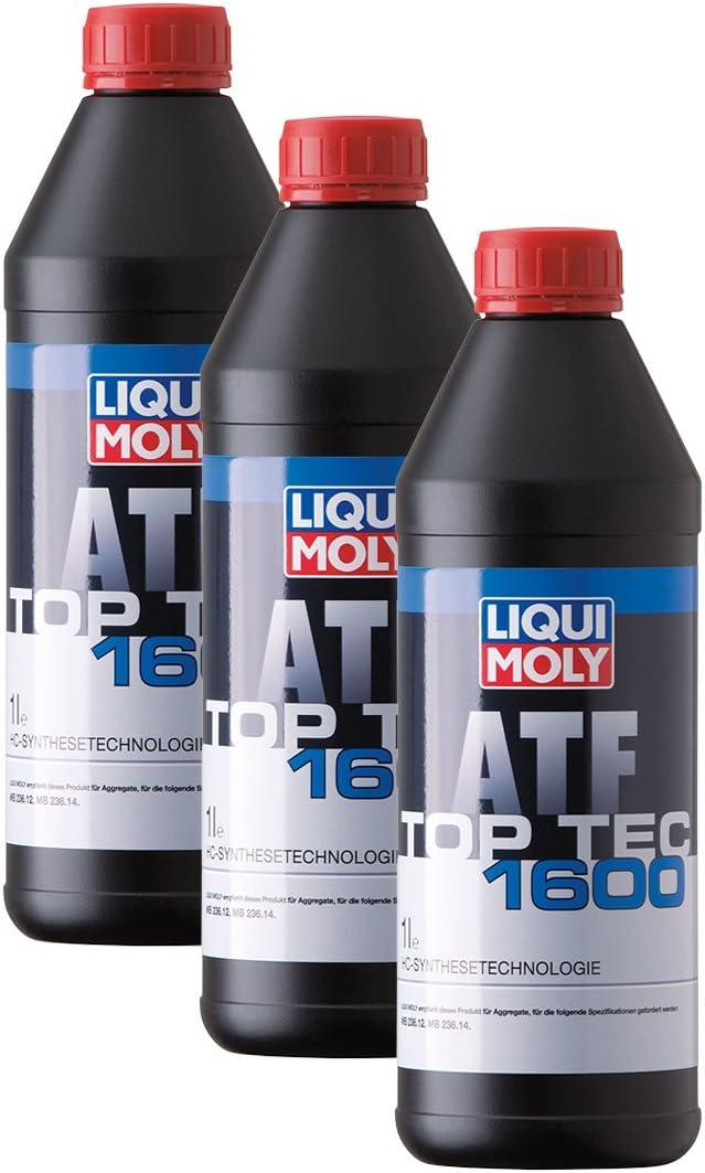 3x Liqui Moly 3659 Top Tec Atf 1600 Automatik Getriebeöl Auto