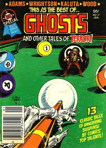 DC Special Blue Ribbon Digest, Vol 3 #17 - This Is the Best of GHOSTS