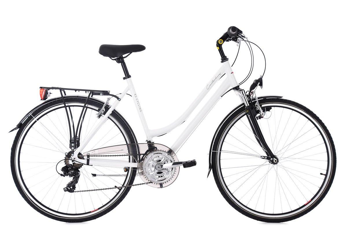 KS Cycling 169T Vélos de Ville Femme, Blanc  6SyCg0306393  - €27.13 79681d5f6f53
