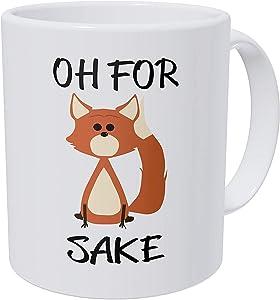 HL HLPPC Oh For Fox Sake 11 Ounces Ceramic Coffee Mug