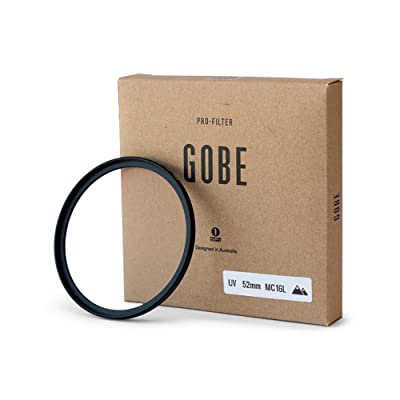 "Gobe Filtro Ultravioleta UV 52mm Vidrio Japan Optics"" Recubierto con 16 Capas multirresistentes"