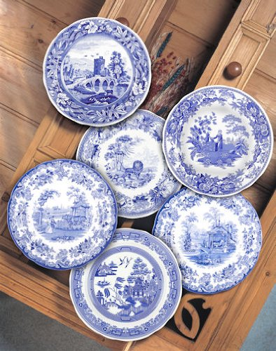 Spode Blue Room Traditions Scenes 10 Plates (6)