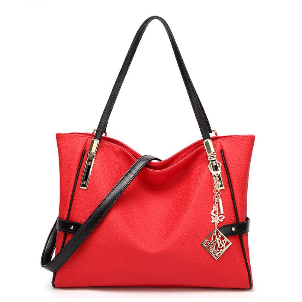 Neue Frauen Tasche Lychee Umhängetasche Big Big Big Bag Messenger Bagbags Frauen B07Q6C49M6 Ruckscke Schnäppchen b81219
