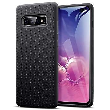 ESR Yippee Touch Funda Blanda para Samsung Galaxy S10 Plus, Carcasa de Silicona Líquida con [Great Grip] [Protección contra Caídas] [Resistencia al ...