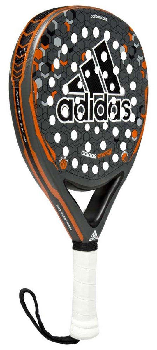 adidas Energy - Pala pádel Unisex, Color Gris/Naranja/Negro/Blanco, Talla única: Amazon.es: Deportes y aire libre