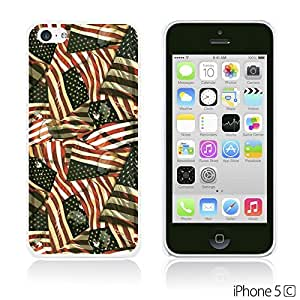 OnlineBestDigitalTM - Flag Pattern Hard Back Case for Apple iPhone 5C - US